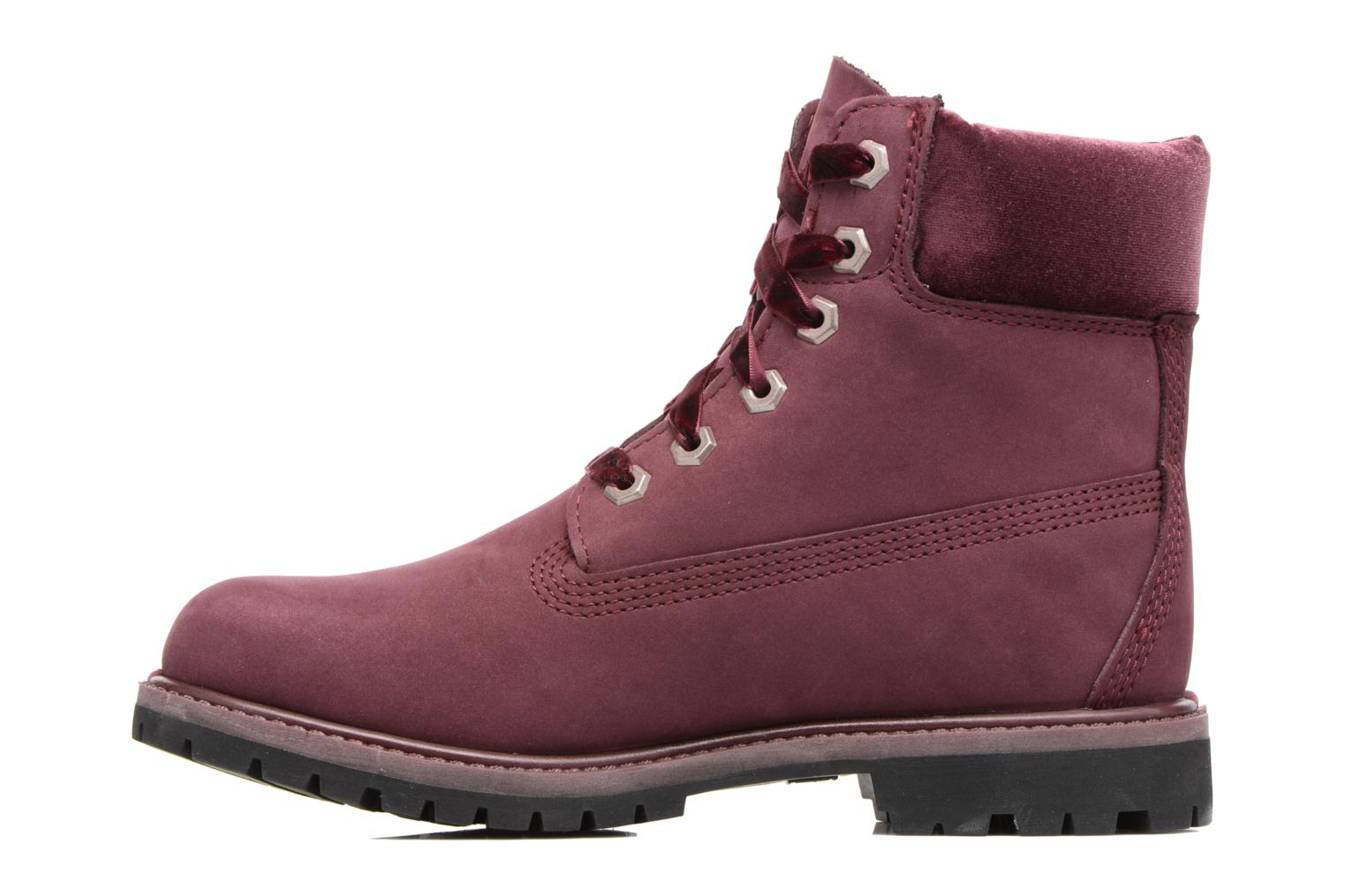 Bottines et boots Timberland 6in Premium WP Boot L/F- W Violet vue face